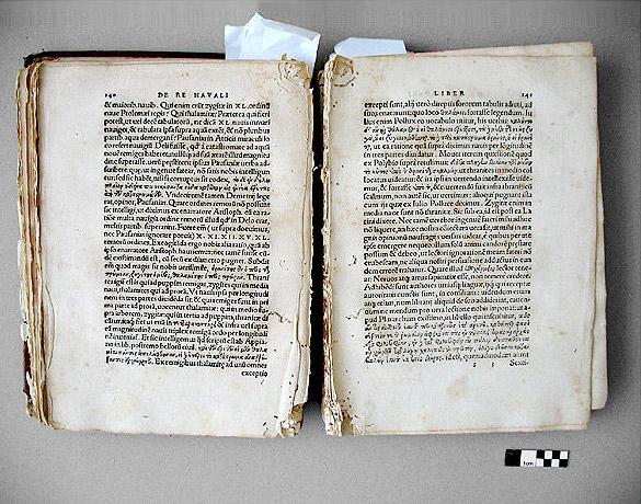 Buchrestaurierung Heftung Defekt Heftb Nde Sind